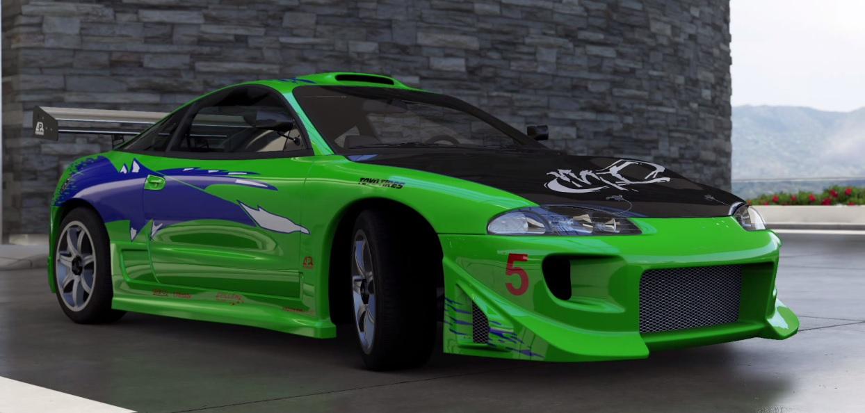 Forza Motorsport 6: Brian első legendás autója a Halálos iramból - Mitsubishi Eclipse