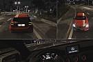 Ilyen viharban, éjszaka vezetni a Mercedes A45 AMG-t a játékban: Project CARS