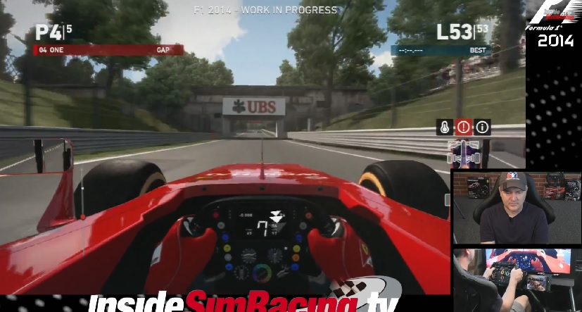 F1 2014: Ezt tudja a játék egy modern és drága szimulátoros berendezéssel