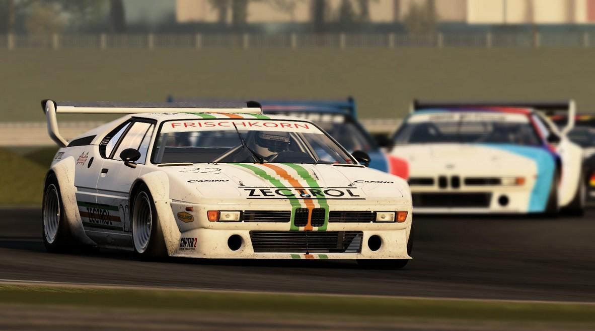 Project CARS: BMW M1 Procar a játékban maxra húzott grafika mellett