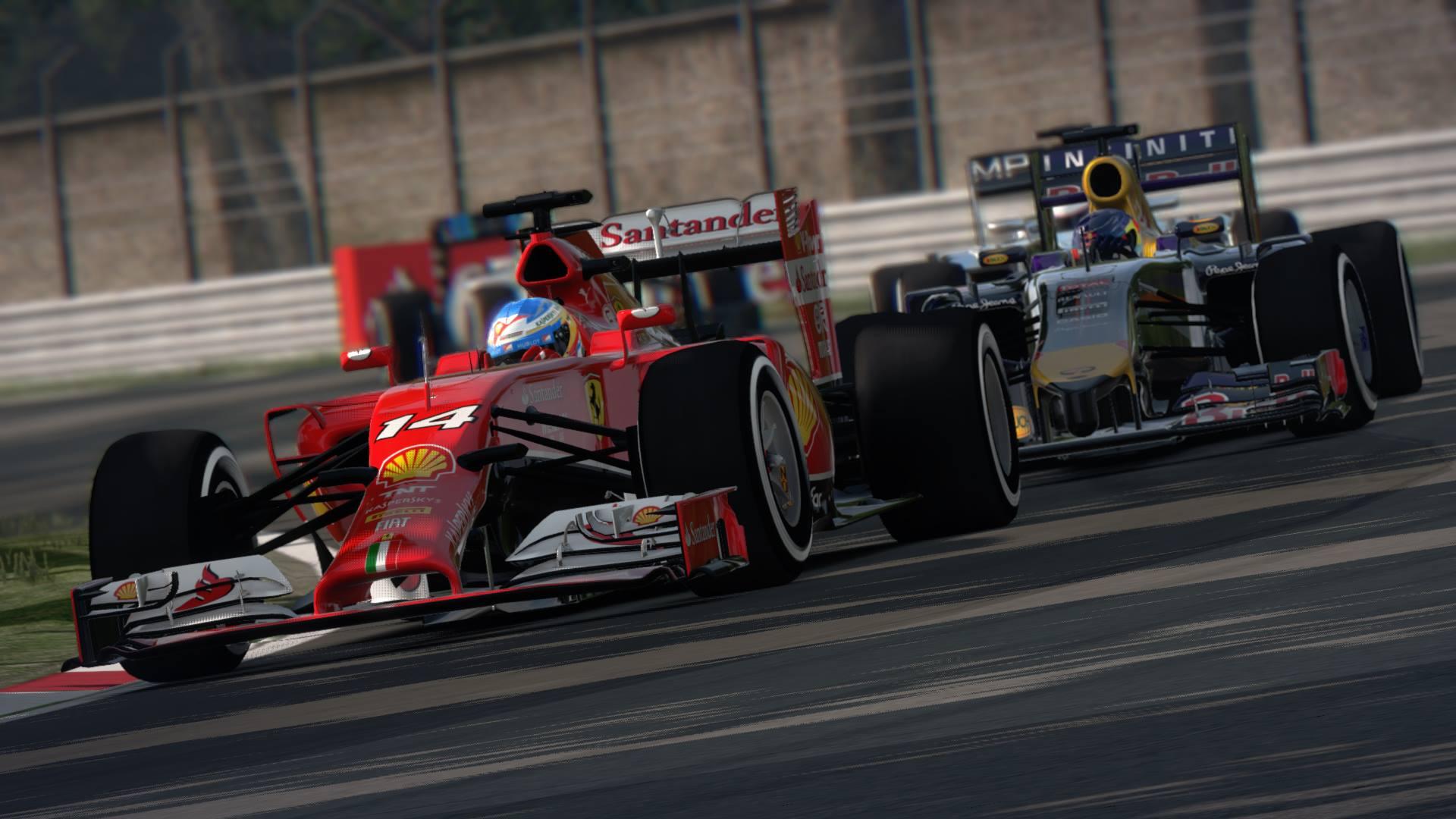F1 2014 Vs. Assetto Corsa: Egymás ellen a hivatalos F1-es játék és a szimulátor - Ferrari V6 turbó, Alonso