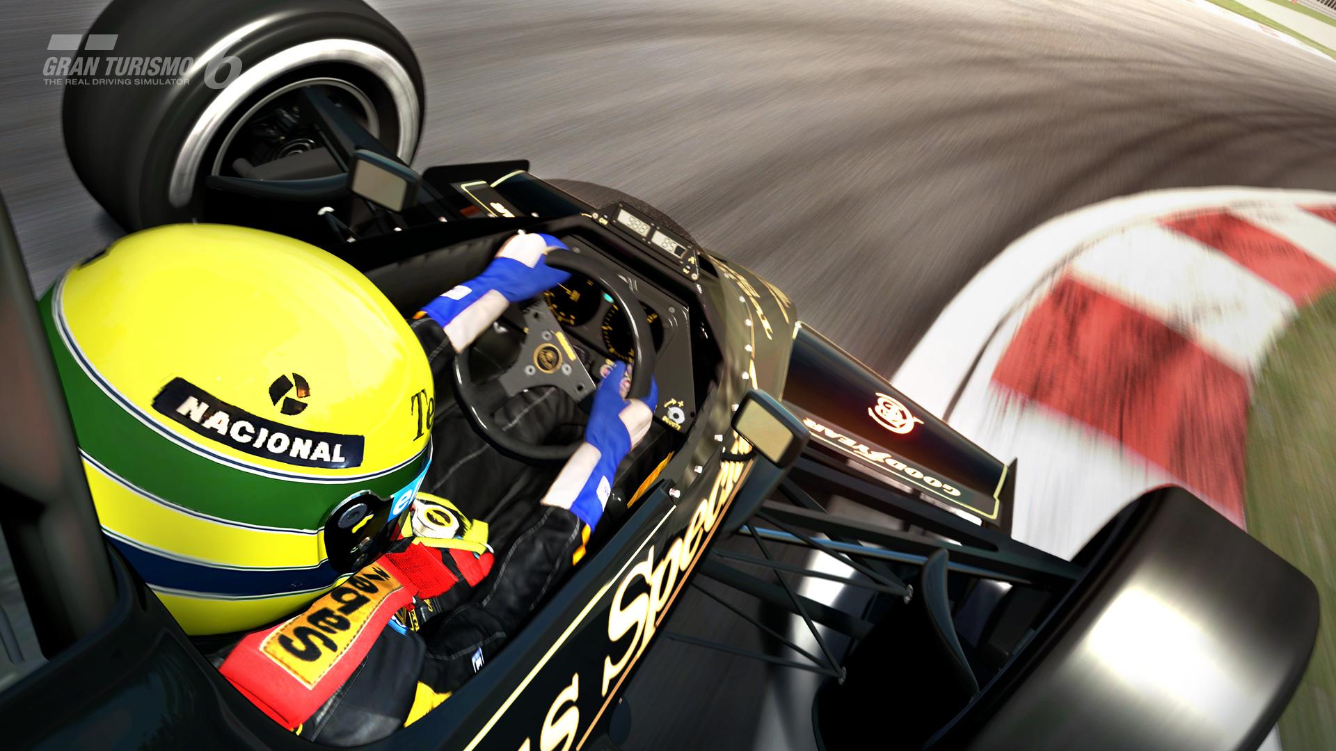 Gran Turismo 6: Videón Ayrton Senna és a legendás Lotus 97T
