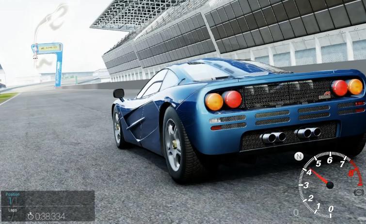 Project CARS: Ilyen a játékban a McLaren F1