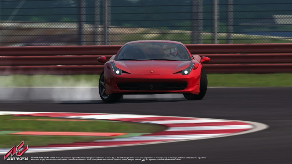 Assetto Corsa: Egy kis mókázás a Ferrarival