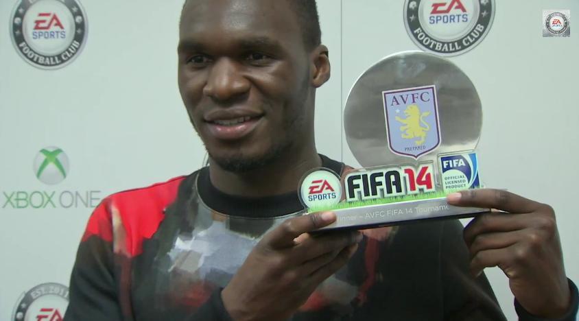 FIFA 14 - Aston Villa Tournament - Benteke, Agbonlahor, Gardner, Baker