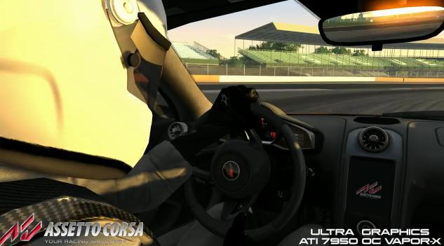 Assetto Corsa: Ultra grafikai beállításokkal a játék – McLaren
