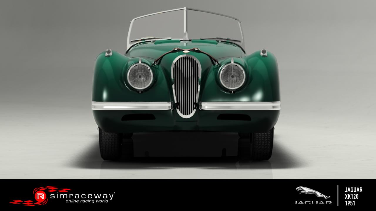 Simraceway: Elérhető a Jaguar XK120 - Galéria