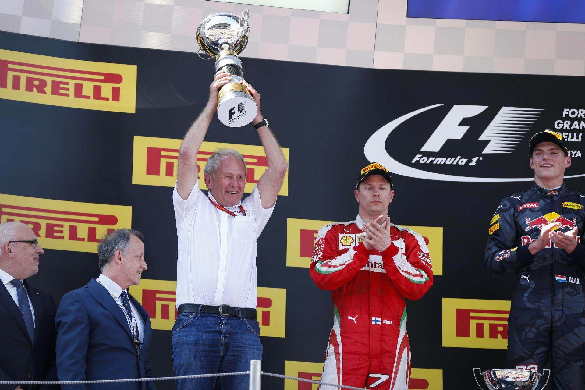 Räikkönen: attól, mert nyert a Red Bull két hete, még nincsenek előttünk