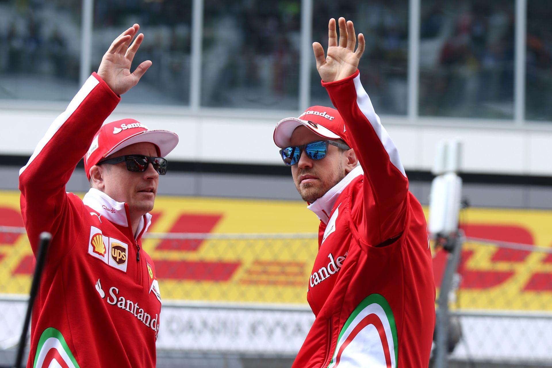 Amit eddig nem feltétlen tudtunk: Räikkönen tanulási és Vettel babonás szokása!