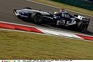 Webber 11 évvel ezelőtt a Williams-BMW-vel Kínában: beszédes