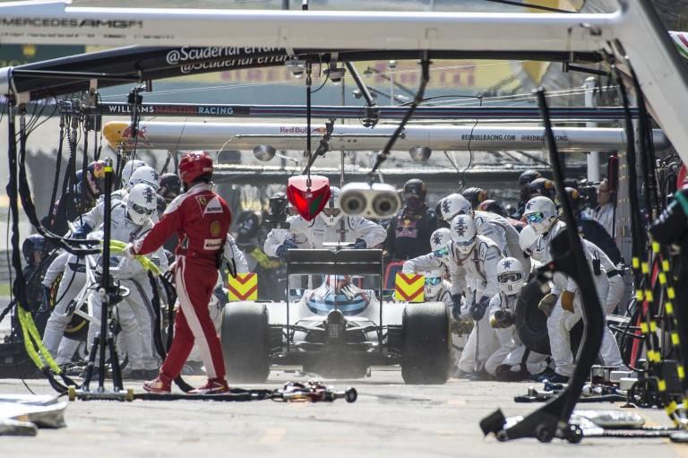Elképesztő, amit a Williams csinál a bokszban: pokolian gyorsak