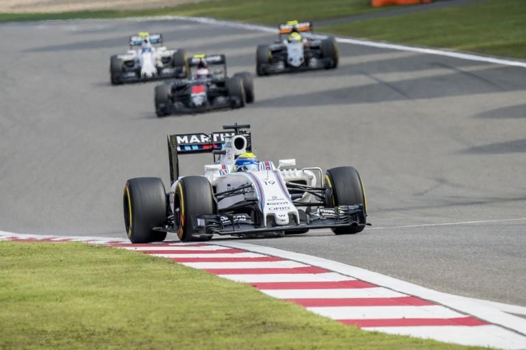 Massa elárulta, mivel tartotta maga mögött Lewis Hamiltont Kínában!