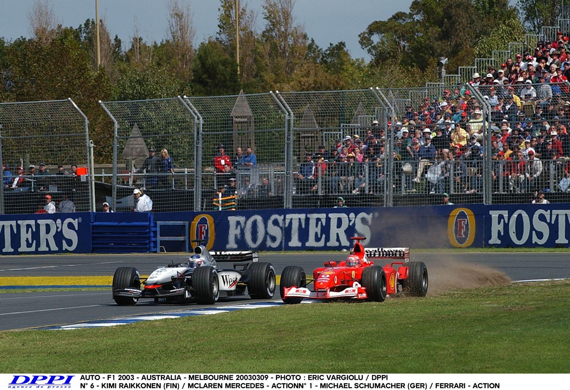 Räikkönen Vs. Schumacher Ausztráliában: Palik és Czollner