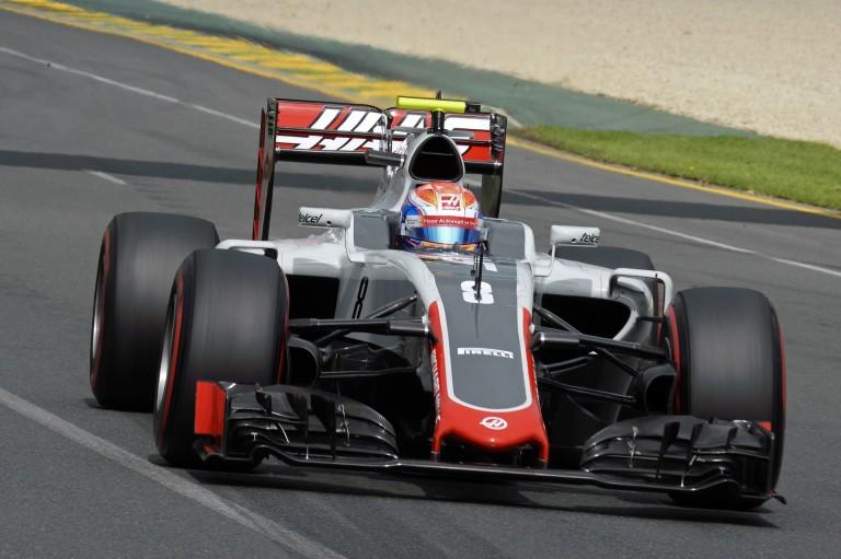 Grosjean sem akart hinni a szemeinek, amikor rögtön pontokat szerzett a Haas színeiben