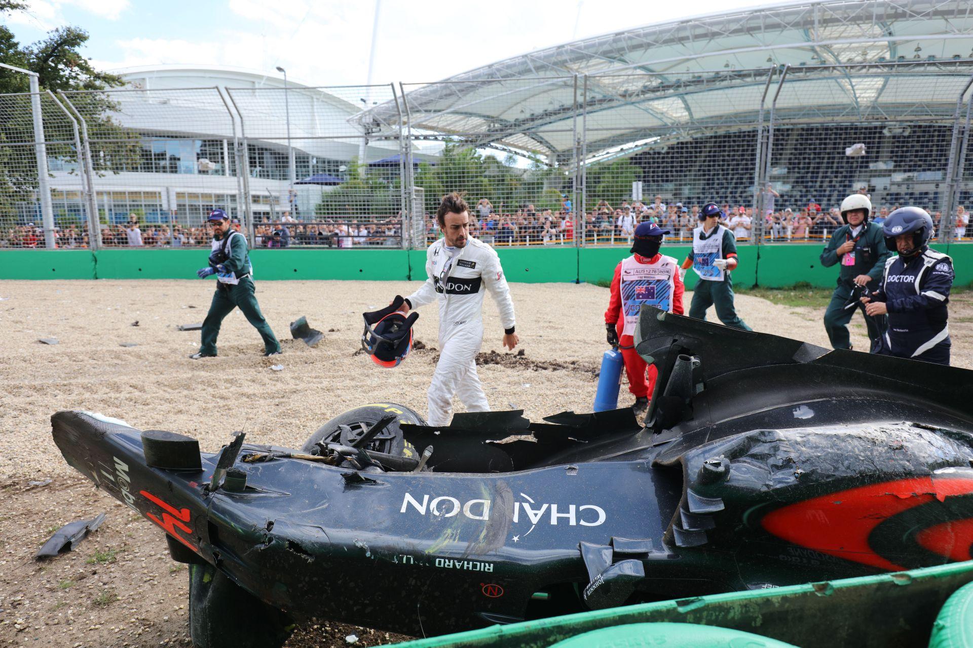 Alonso nem vehet részt a Bahreini Nagydíjon, Vandoorne veszi át a helyét - hivatalos