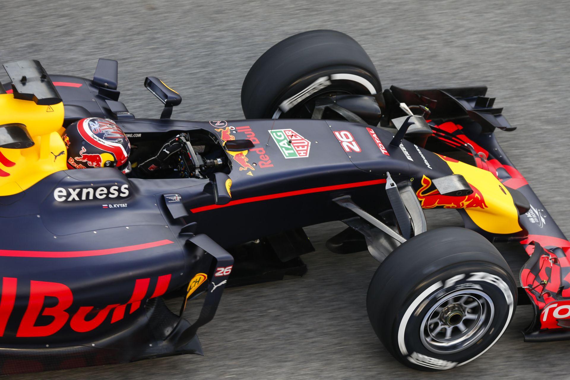 Jól sikerült az első teszt a Red Bullnak
