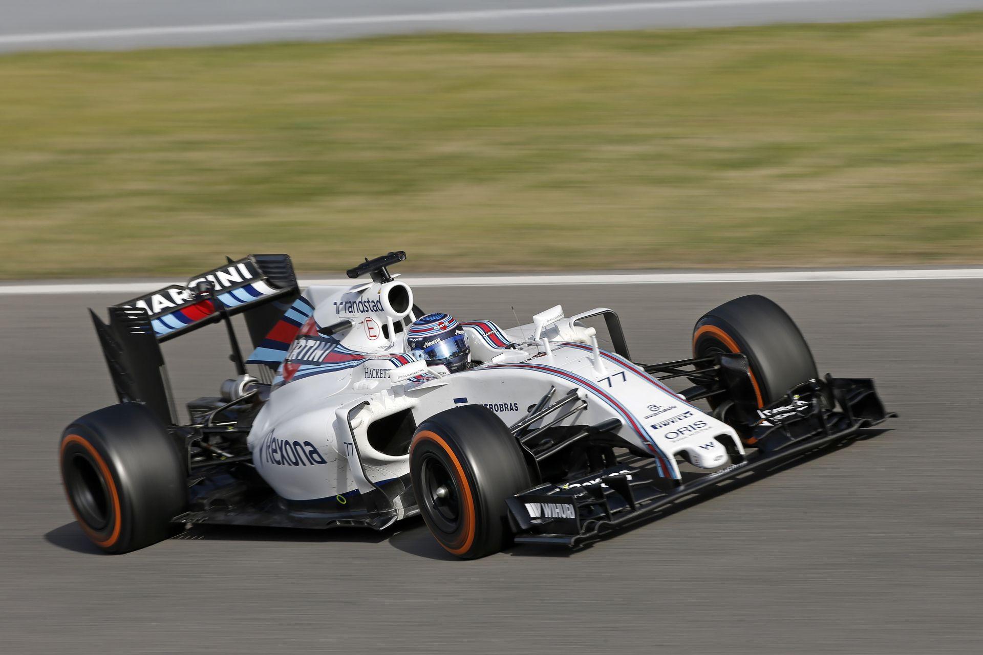 Ebből is látszik, hogy több pénzre van szüksége a Williamsnek
