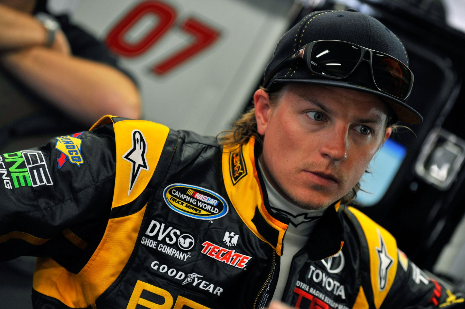 Amikor Raikkönen még a NASCAR-ban versenyzett