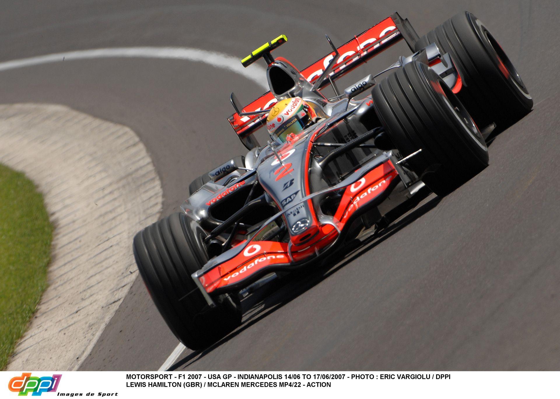 Alonso Hamilton ellen: Amerikai Nagydíj 2007!