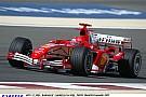 Michael Schumacher beköszön a Ferrarival Bahreinben: Hoppá!