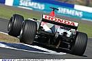 Button és a durva Honda V10: 2003
