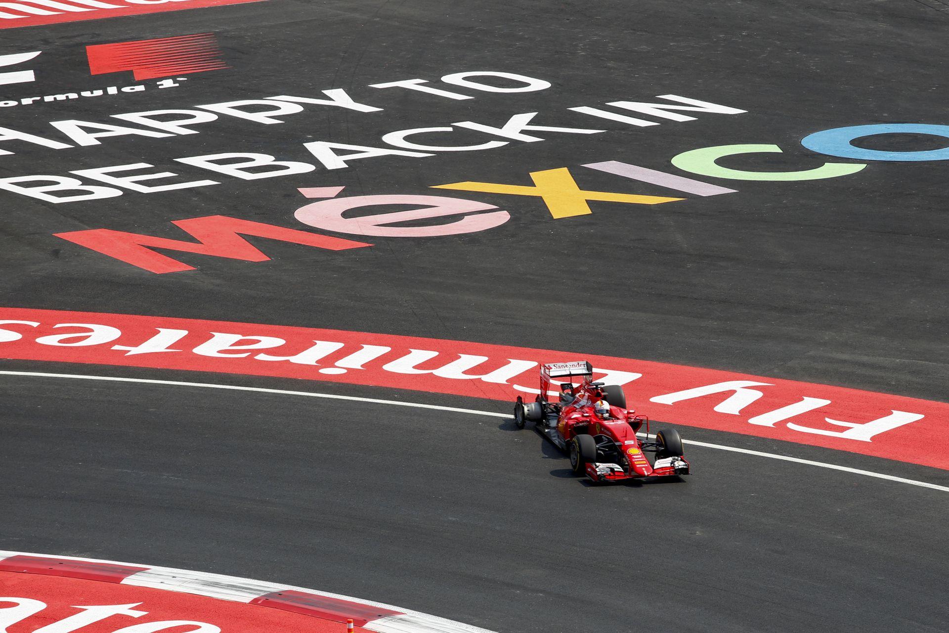 Hosszú sorozat szakadt meg Vettel számára Mexikóban: legutóbb 2010-ben esett ki ütközés miatt