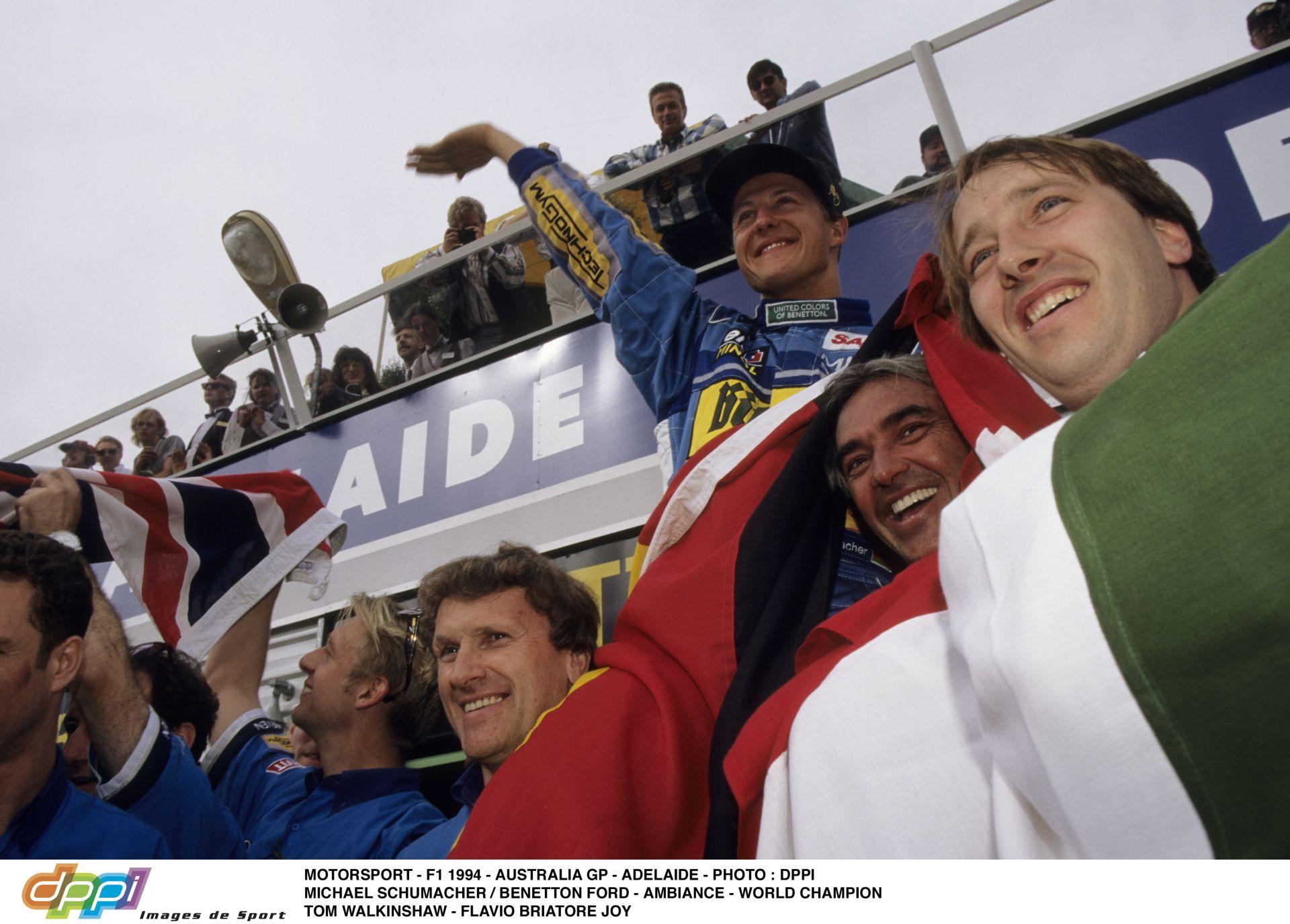 Michael Schumacher 1994-ben ezen a napon szerezte meg az első címét a Forma-1-ben