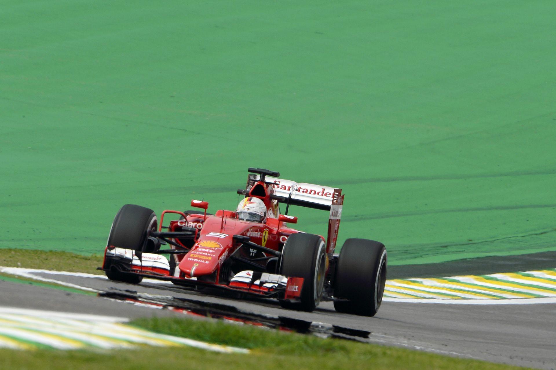 Vettel küszködős hétvégére számít Brazíliában