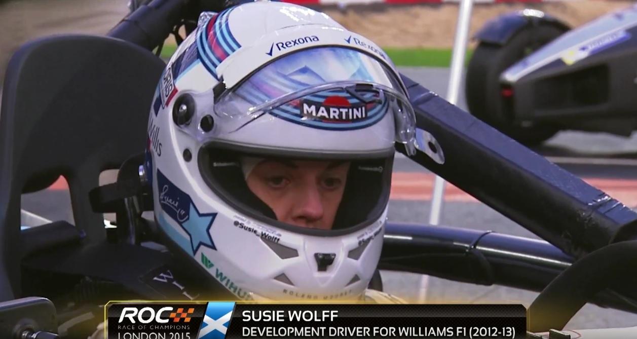 Susie Wolff kellemetlen másodpercei: ez a fajta autóversenyzés nem az ő világa