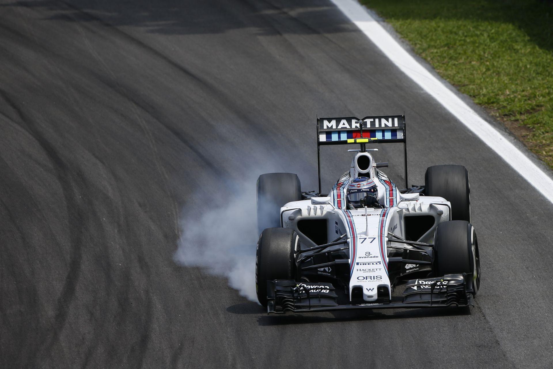Bottas szerint a Williamsnek sürgősen meg kell oldania a problémáit az abroncskezeléssel!