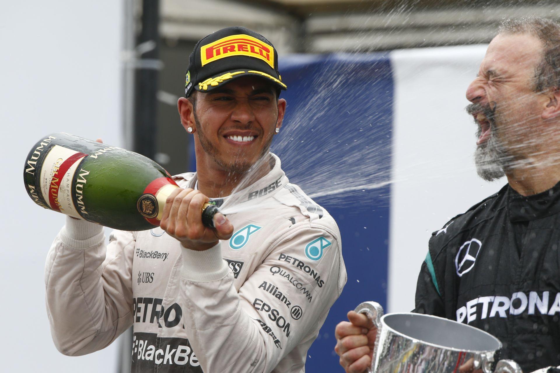 Hamilton alkonyati győzelemmel zárná a bajnoki évét Abu Dhabiban!