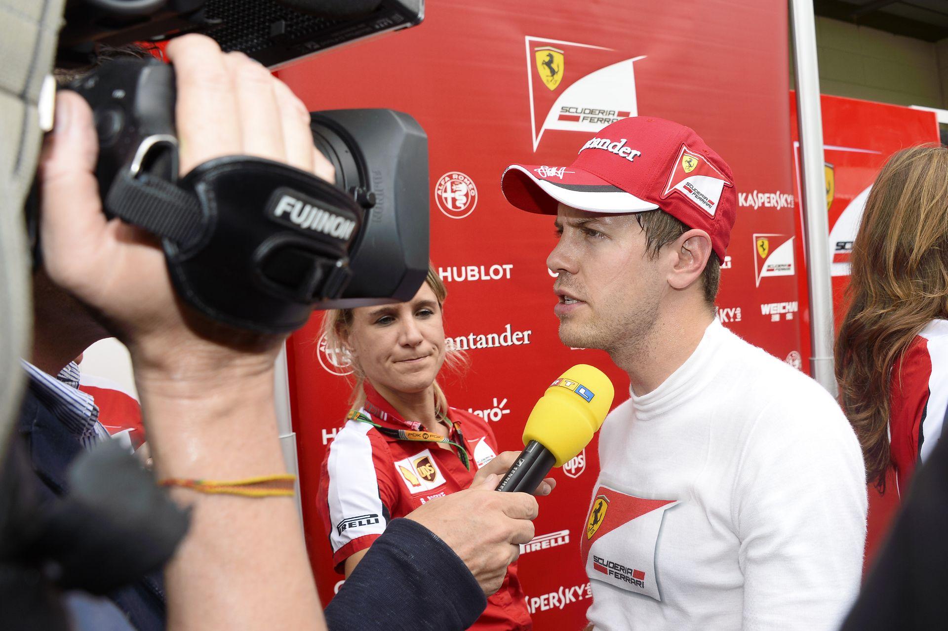 """Vettel: """"Sajnos itt Abu Dhabiban is gyorsak a Mercedesek…"""""""