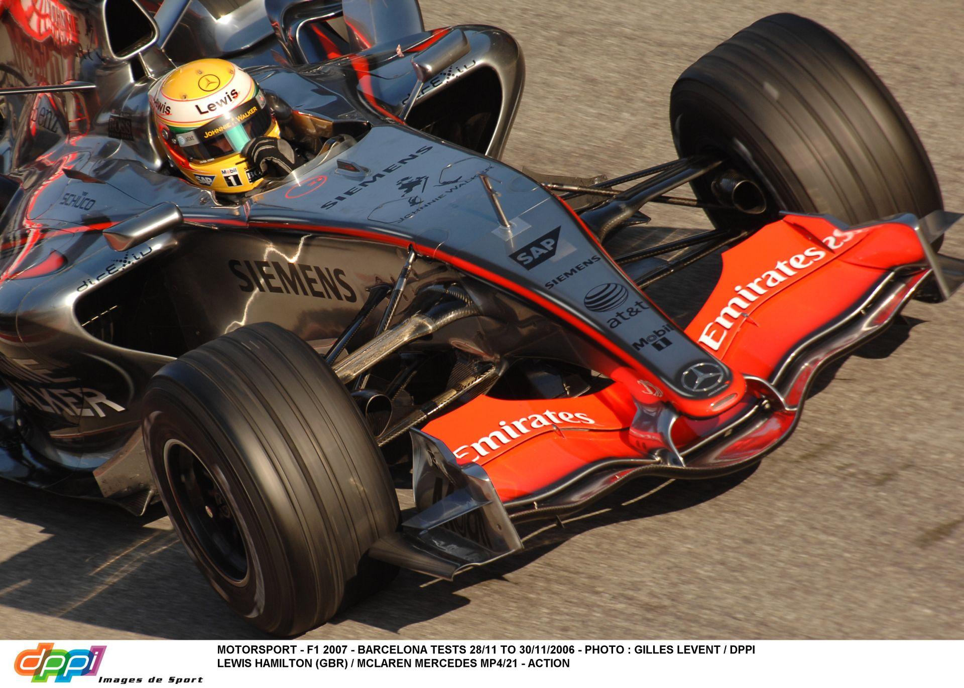 2006-ban ezen a bizonyos napon kezdődött el Hamilton F1-es karrierje