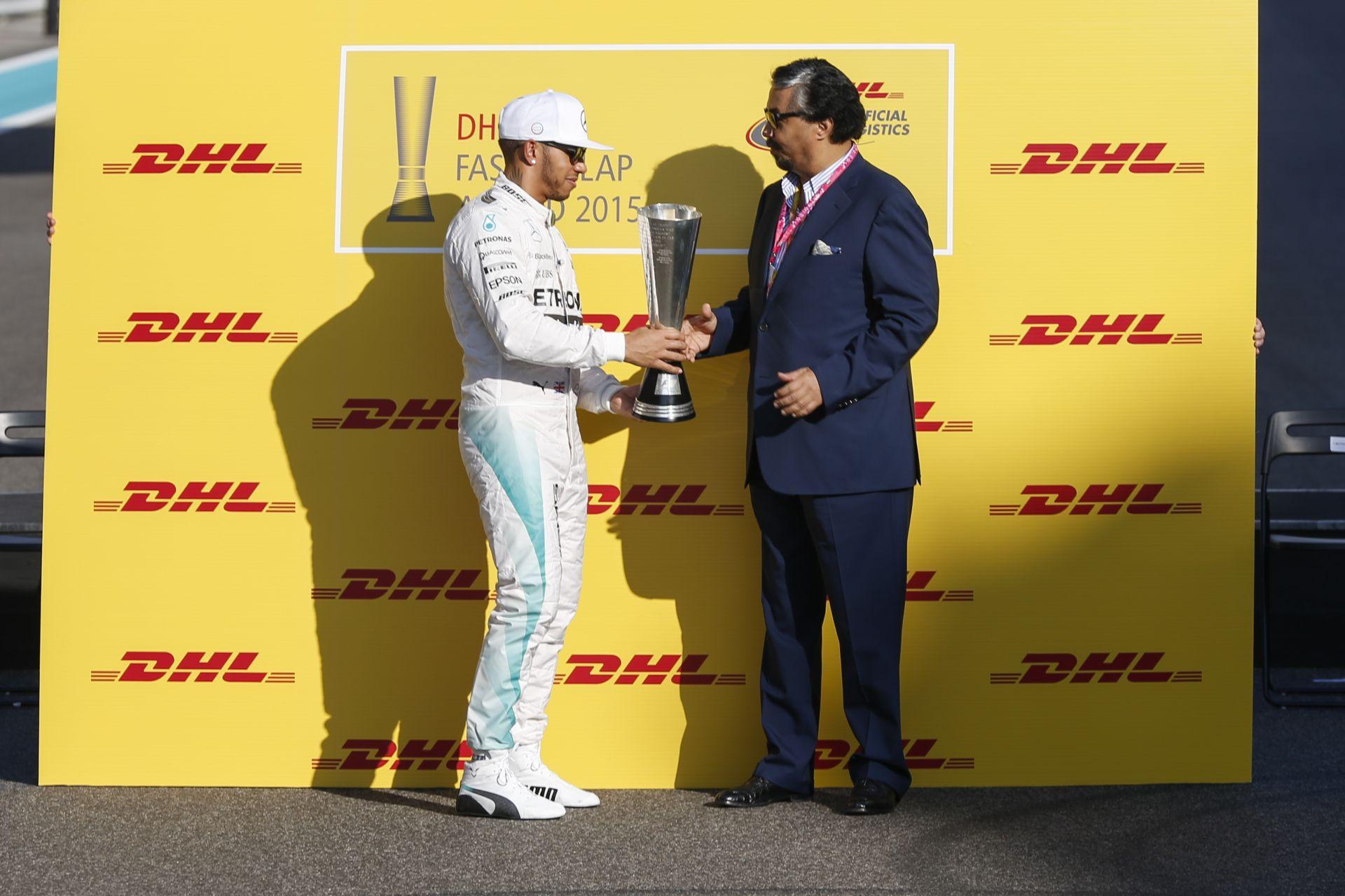 Hamilton és a Ferrari is különdíjat kapott a Forma-1 2015-ös szezonjában