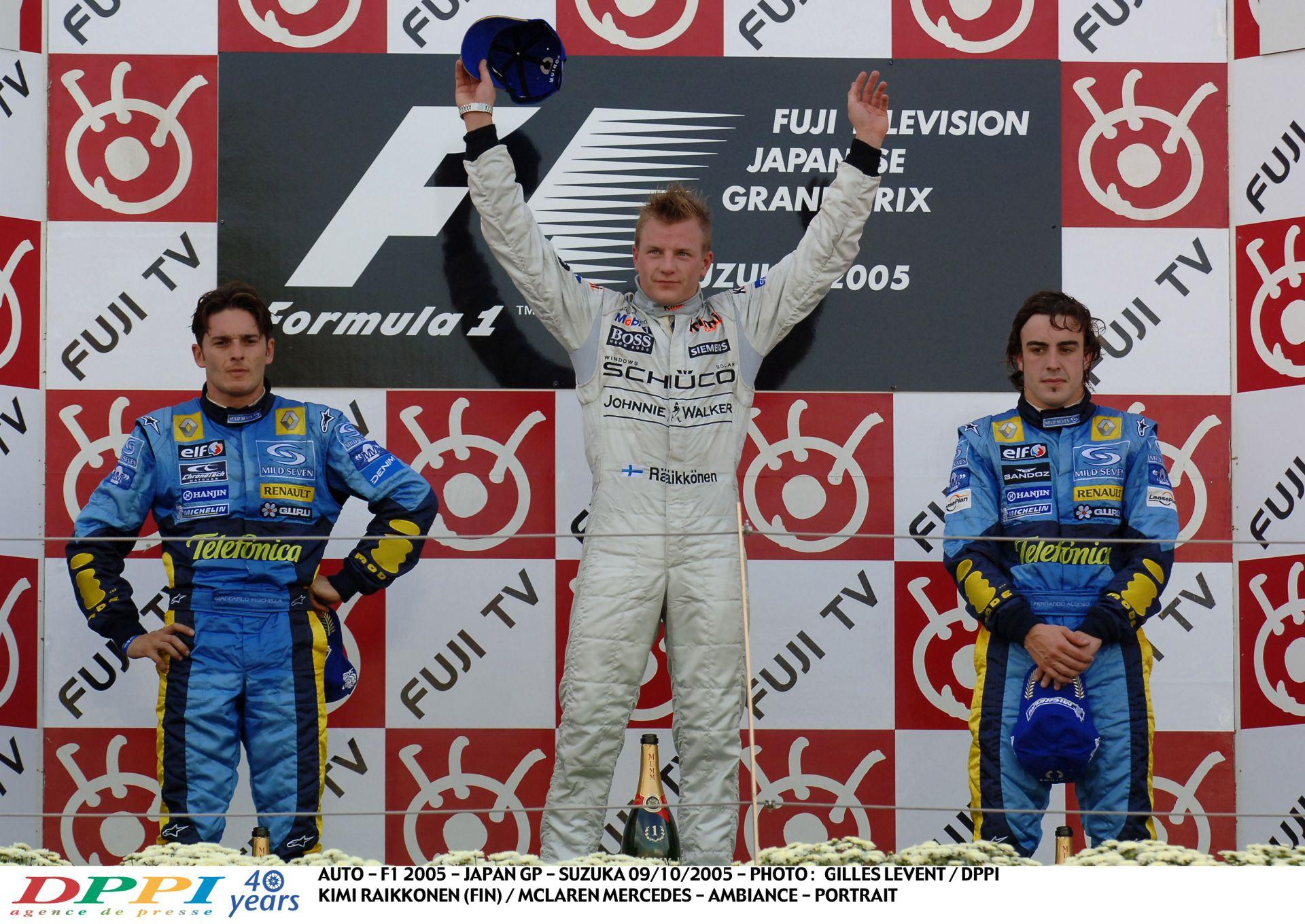 Raikkönen élete egyik legdurvább F1-es győzelme a McLarennel: a 17. helyről nyert Suzukában
