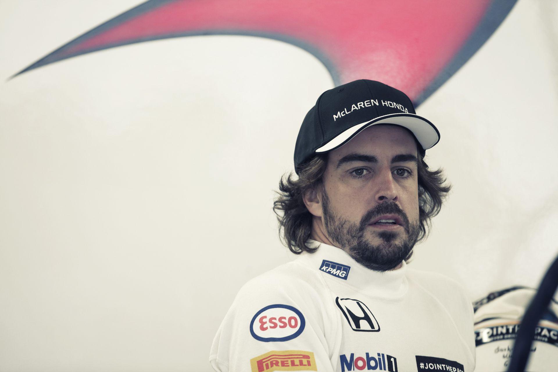 Alonsonak már mindegy, hogy Q1 vagy Q2... 35 helyes rajtbüntetéssel nem is csoda!