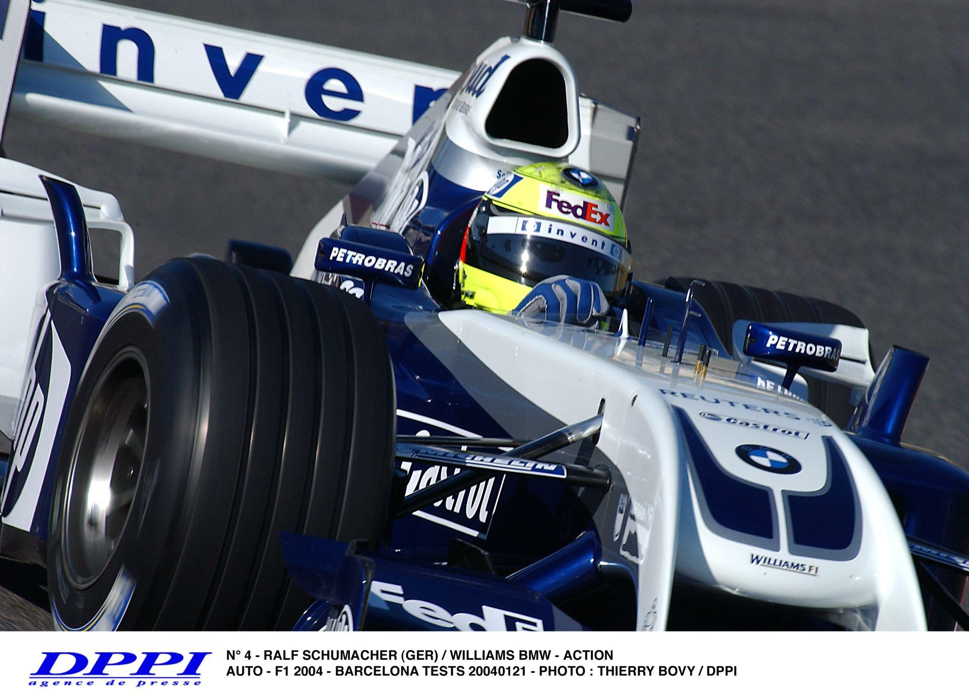 Ralf Schumacher ezen a napon vonult vissza a Forma-1-ből
