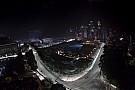Madártávlatból a fantasztikus szingapúri F1-es pálya