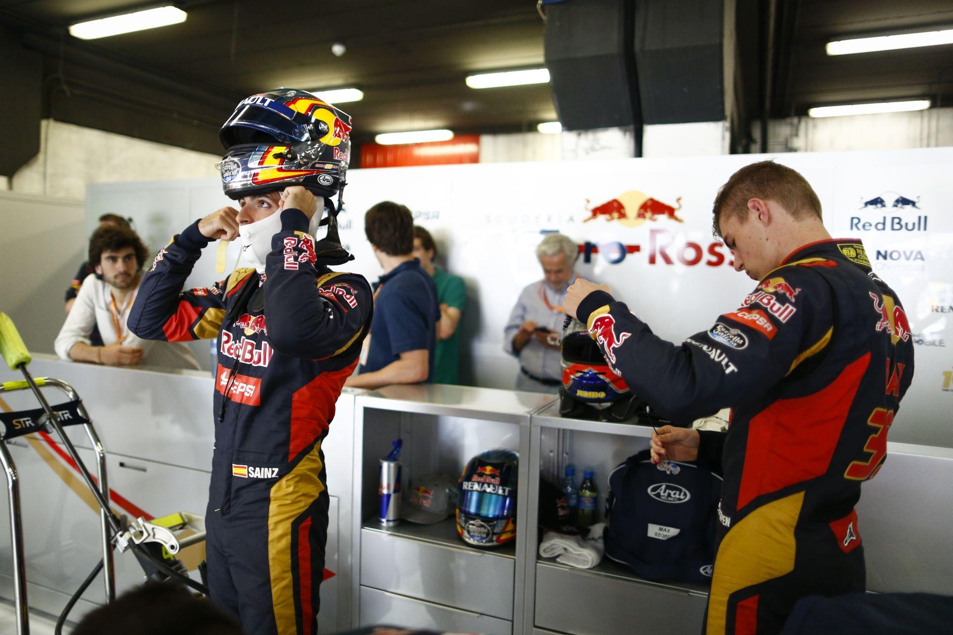 A Red Bull nehéz döntés előtt áll: Verstappen vagy Sainz?