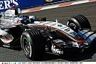 Kimi Raikkönen Spa-ban a brutálisan karakteresen üvöltő V10-es McLarennel