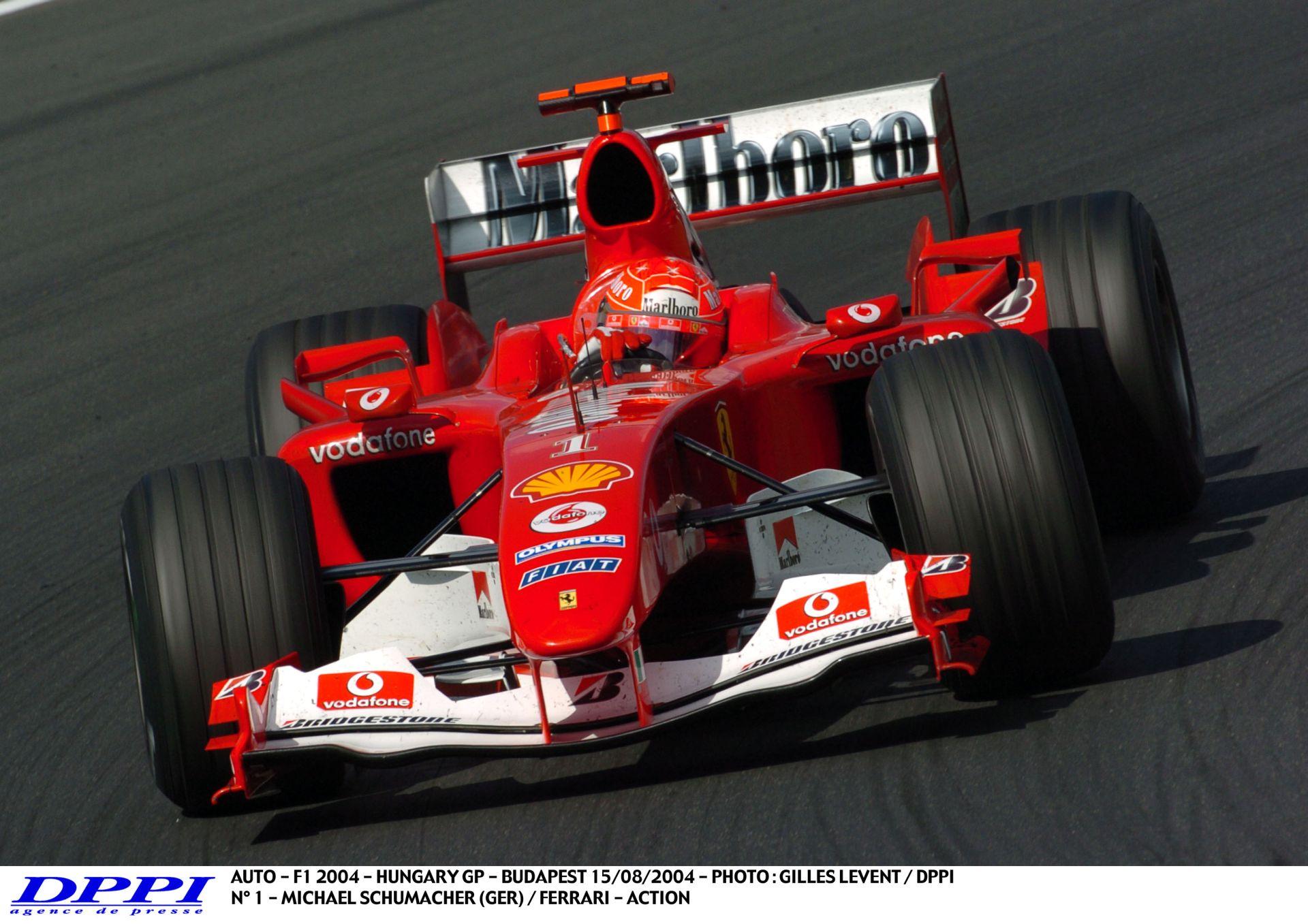 Schumacher hihetetlen menetelése a Ferrarival és győzelme a Magyar Nagydíjon: 12 siker 13 futam alatt