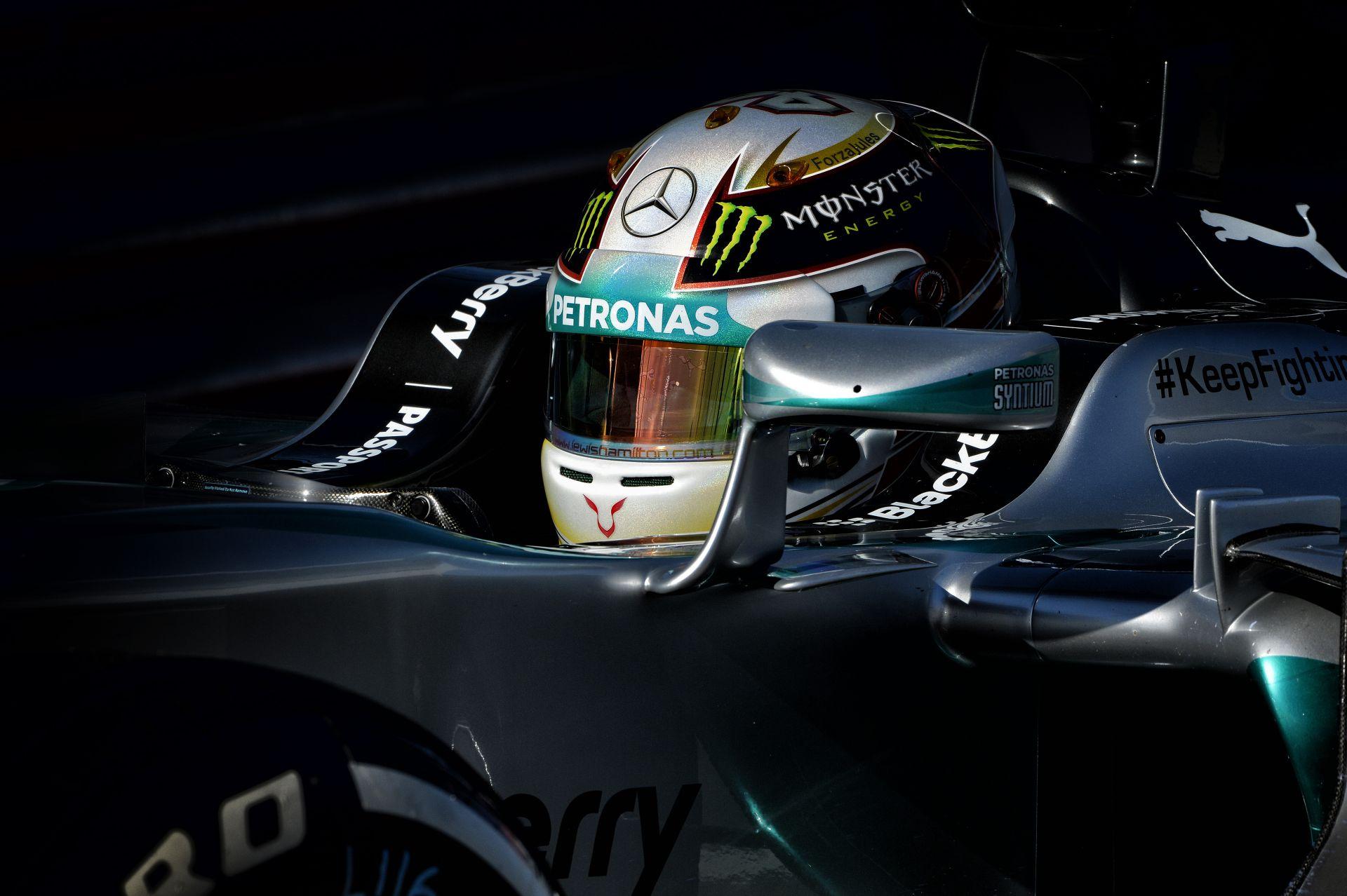 """""""Lando 'Hamilton' Calrissian"""" fénysebességre kapcsolt és simán megnyerte a harmadik edzést az Amerikai Nagydíjon Rosberg és Mass"""