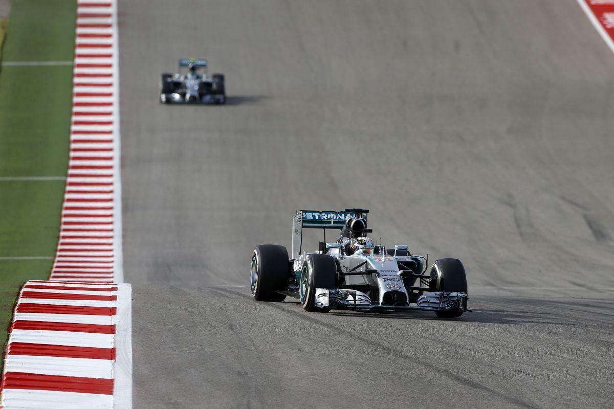 Fantasztikus hír Rosbergnek: Abu Dhabiig nyitott marad a bajnokság, Austinban 2 dolgot nézett be