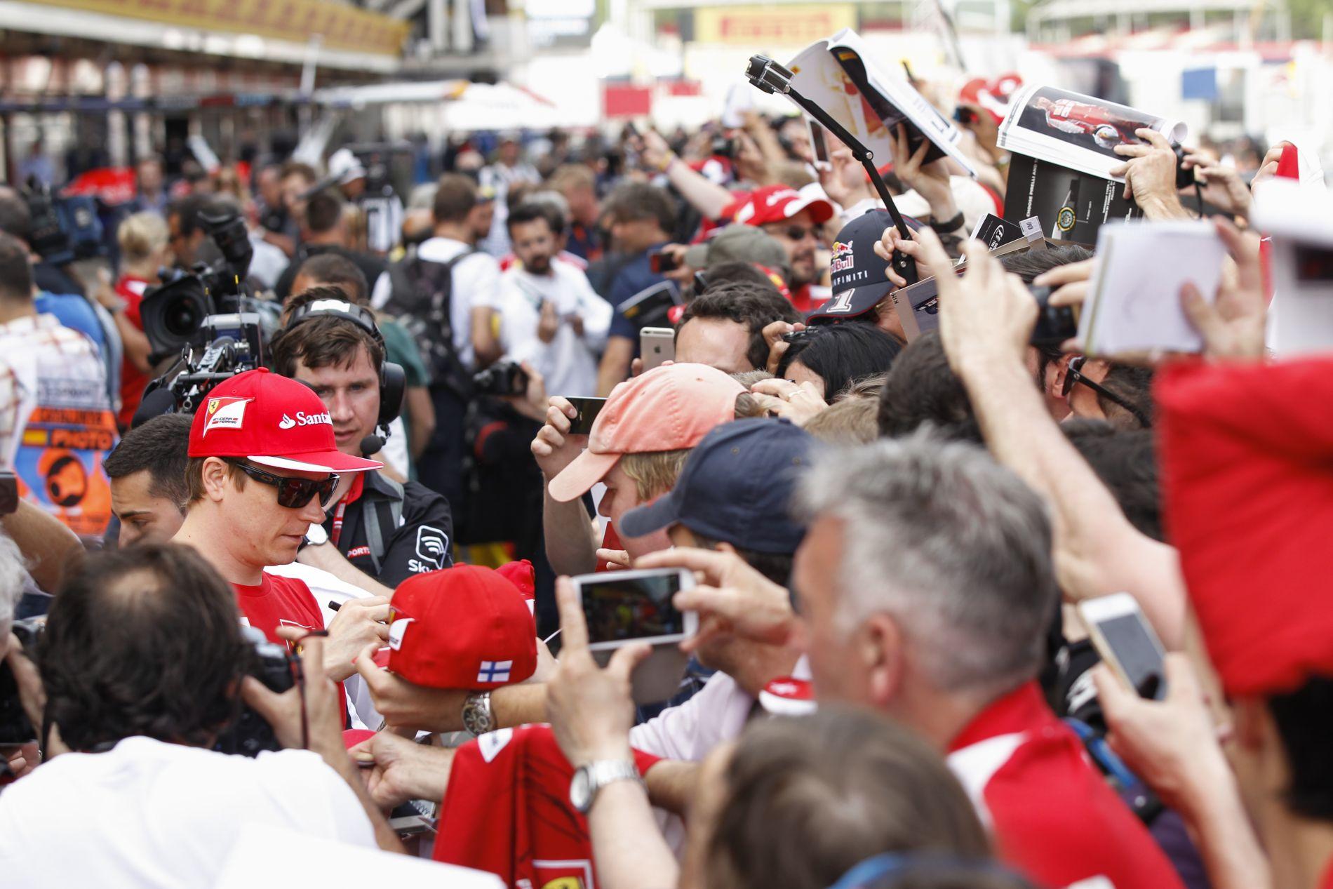 Itt a GPDA-felmérés végeredménye! Raikkonen és a Ferrari a legnépszerűbbek