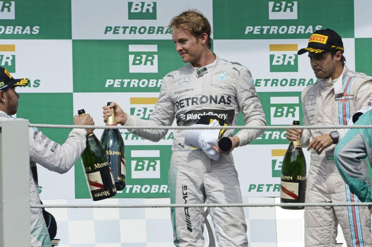 Massa győzelemmel segítene Rosbergnek: az sok lesz, elég valahol a kettő között!