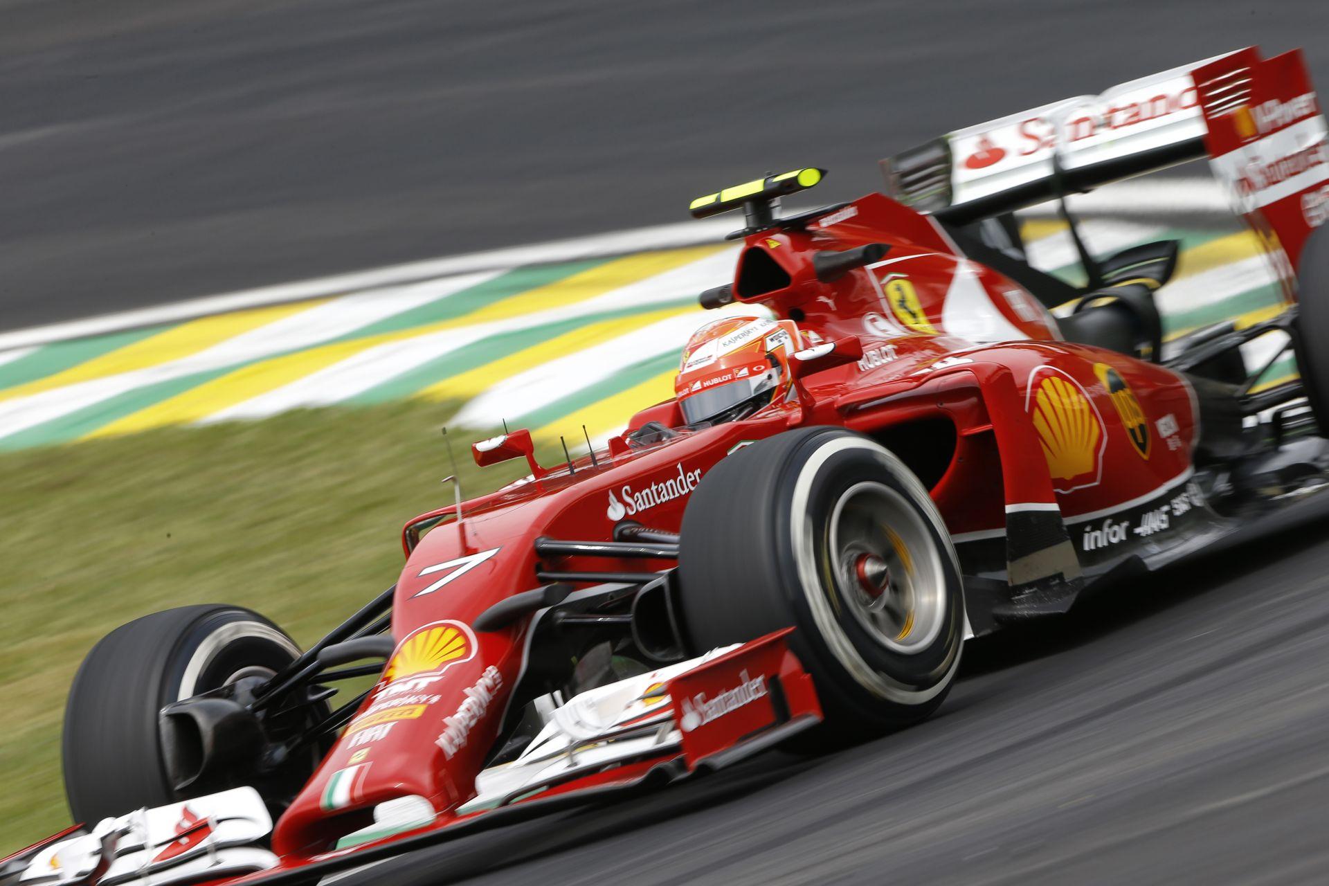 A Ferrari hetek óta már csak Raikkönenre koncentrál?