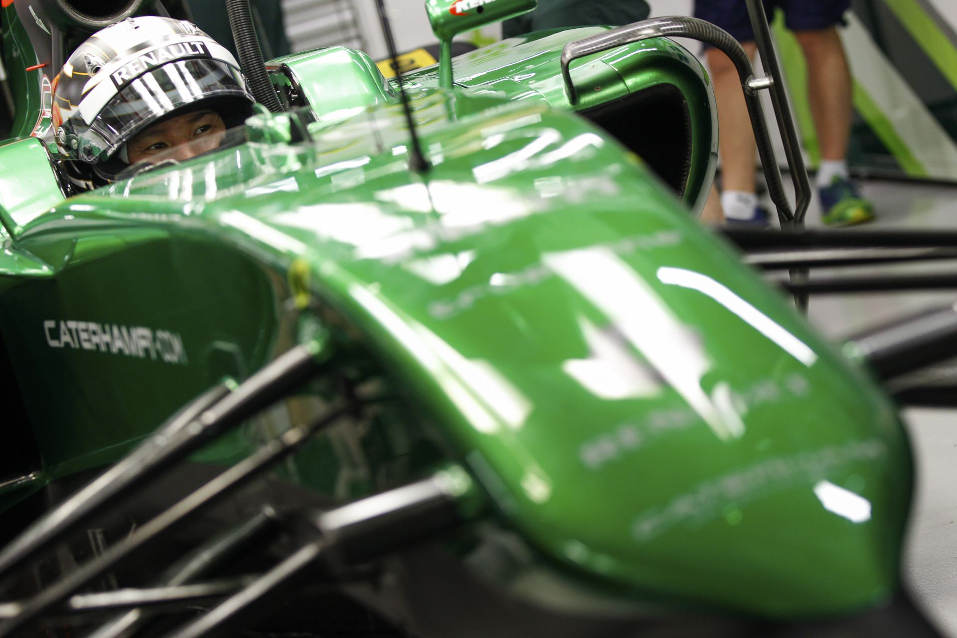Hivatalos: A Caterham F1 Team rajthoz áll az évadzáró Abu Dhabi Nagydíjon