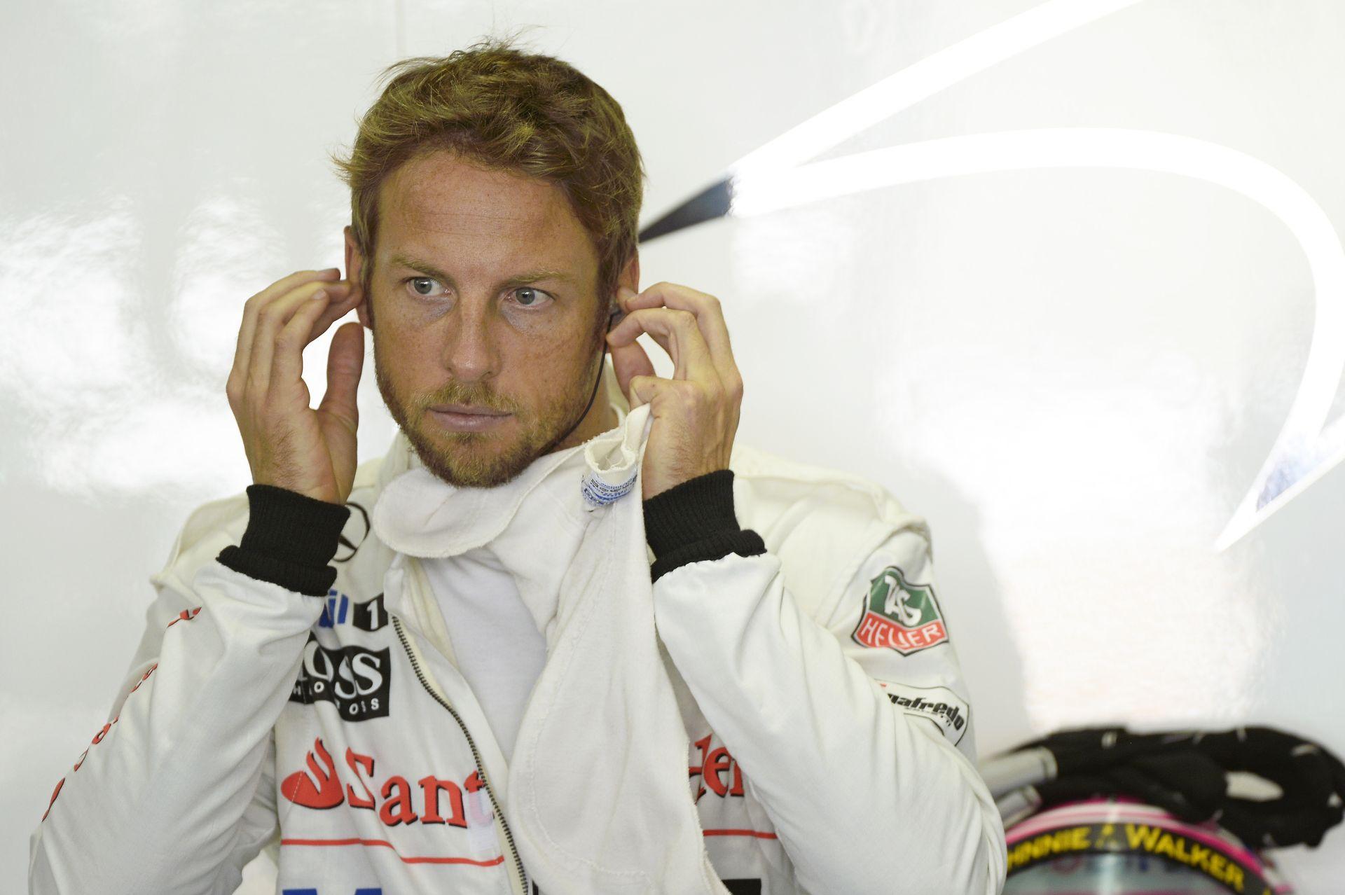 Button az utolsó F1-es futamára készül?