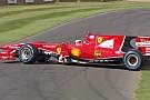 Raikkonen nem kérdez, rögtön megforgatja a Ferrari F10-et Goodwoodban