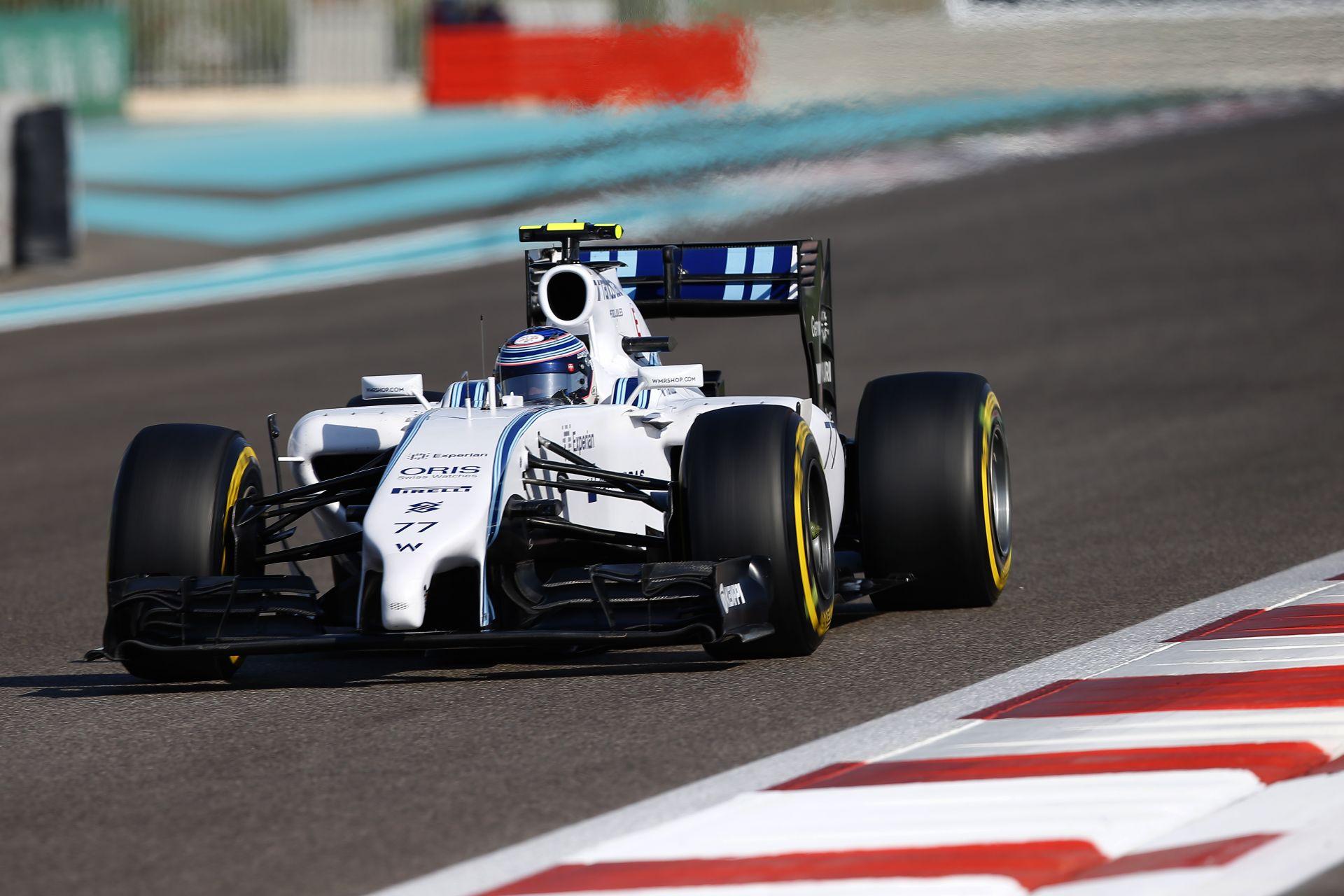 A Williams szerint Bottas az egyik legnagyobb versenyző lehet